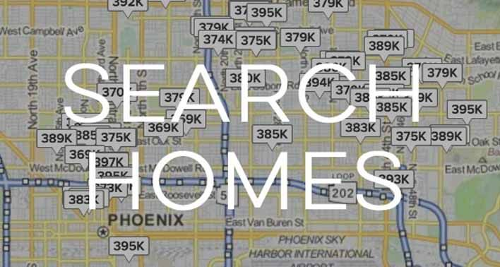 Search homes in the Phoenix Valley with Arizona Report