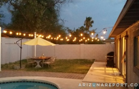 How to Hang String Lights and Cafe Lights | The Arizona Report™