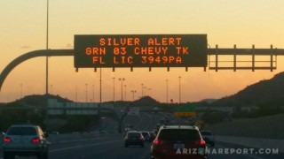 silver alert arizona public service sign