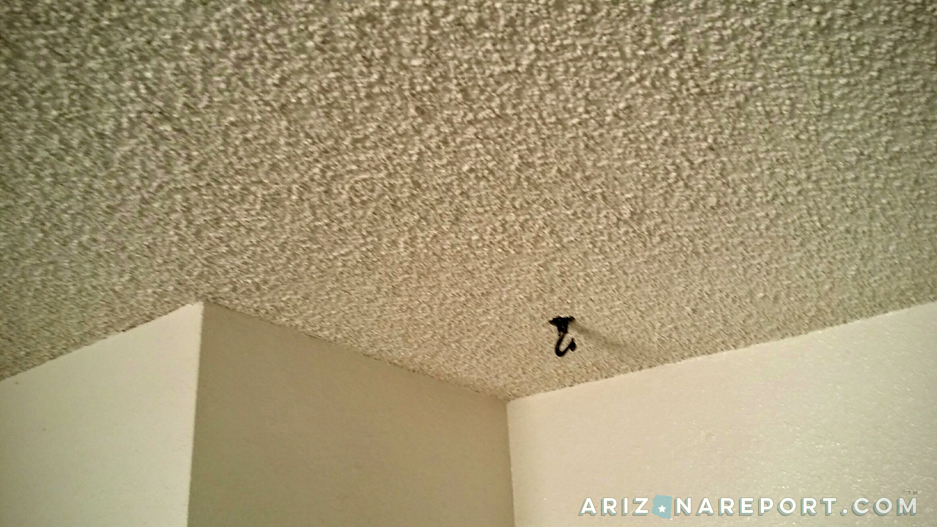 Popcorn Textured Ceilings May Contain Hidden Risk