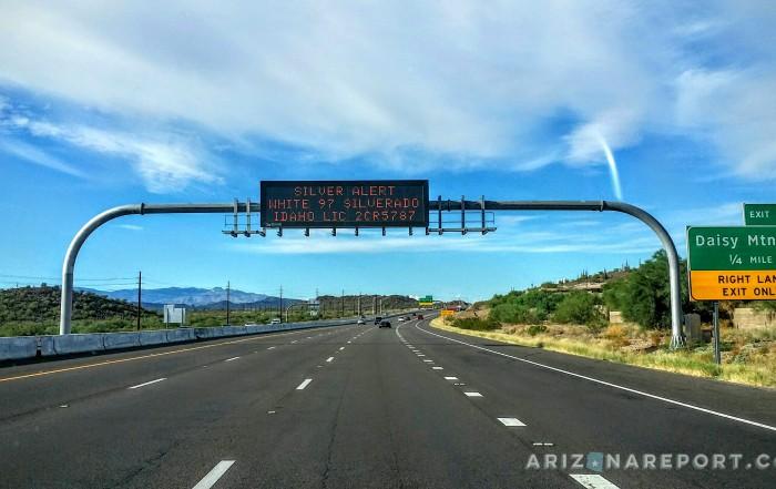 silver alert amber alert arizona interstate