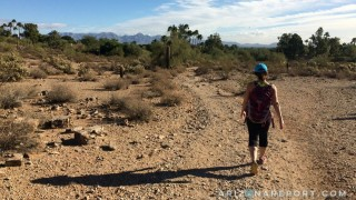 phoenix arizona mountain hiking preserve #100