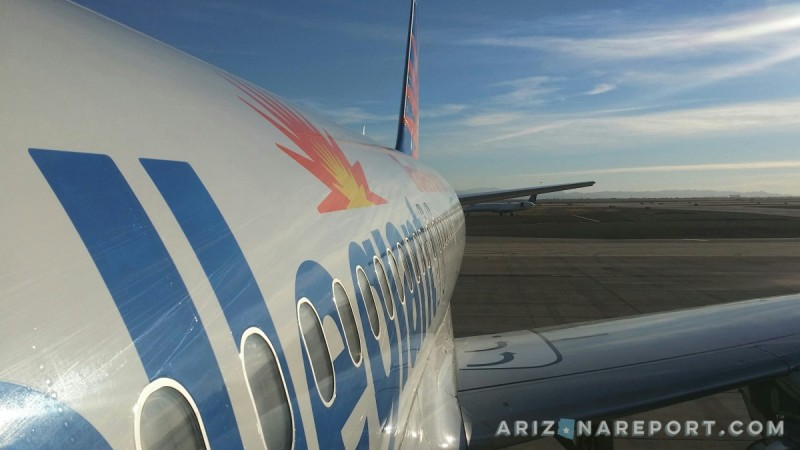 phoenix mesa gateway airport gilbert chandler allegiant