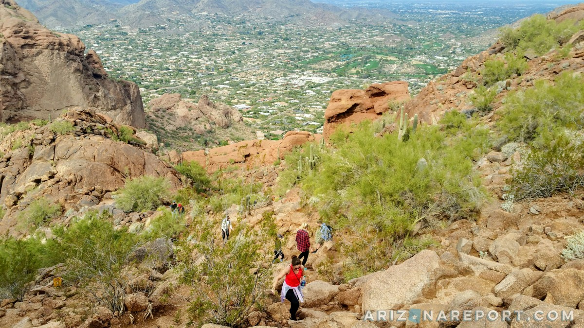 365 Phoenix Hikes: #5 – Camelback Mountain on the Echo Canyon Trail