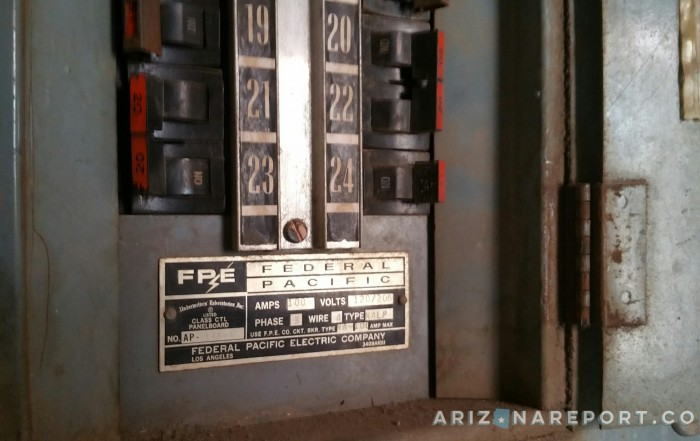 federal pacific FPE electrical panel