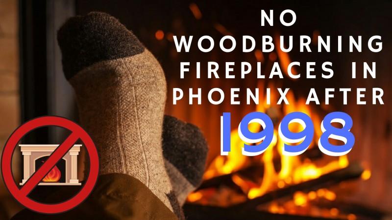 fireplace ban Maricopa County Arizona Phoenix