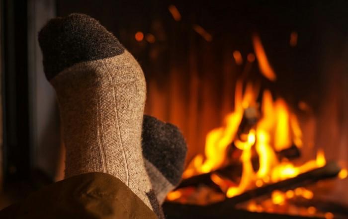 Wood Burning Fireplace Home in Phoenix, Arizona