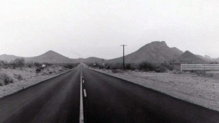 Shea Pima Road Salt River Maricopa Pima Indian Tribe land cotton 1976 Ken Lynch photographer Scottsdale