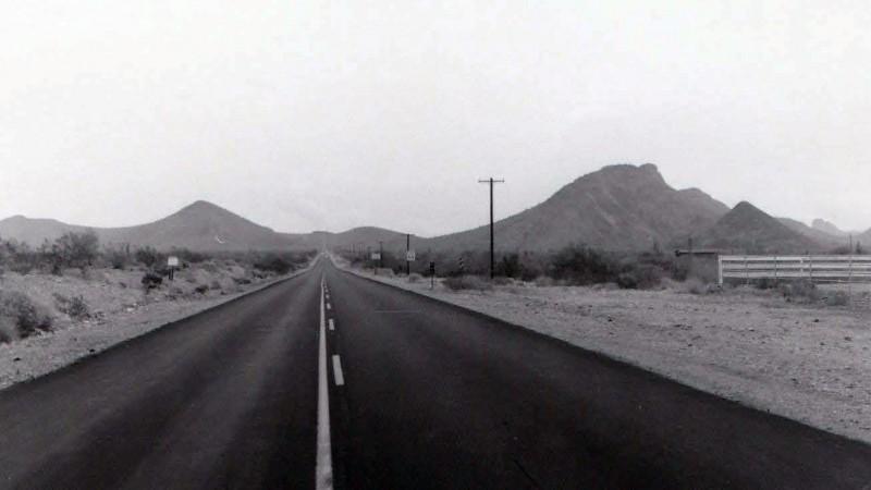 Shea Pima Road Salt River Maricopa Pima Indian Tribe land cotton 1976 Ken Lynch photographer Scottsdale