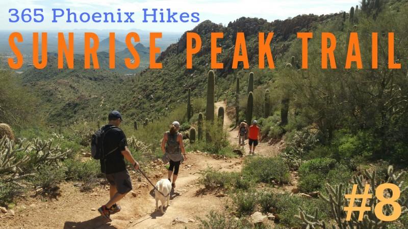 Sunrise Peak Trail McDowell Sonoran Preserve hiking best hike Scottsdale Fountain Hills