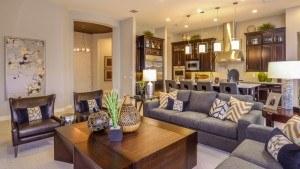 Taylor Morrison home builder Arizona Mesa living room