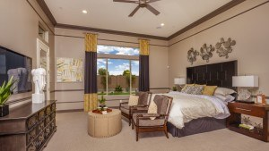 Taylor Morrison home builder master bedroom suite Arizona