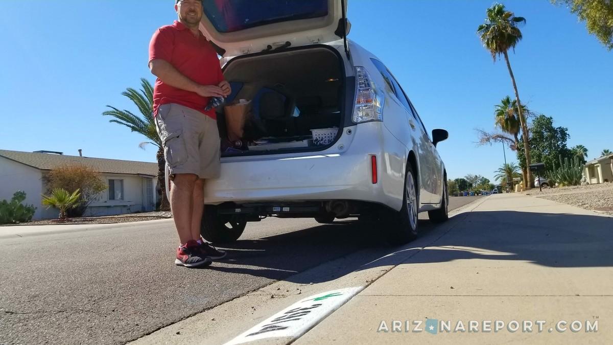Phoenix Arizona curb painting services address number