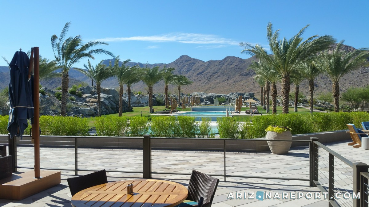 Victory at Verrado, White Tank Mountains, 55+, age-restricted, retirement, palm trees, pool, mountains, Verrado, patio