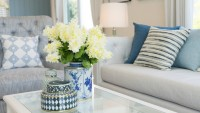 coastal decor home interior desert seaside ocean blues