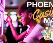 casinos Phoenix gaming gambling map