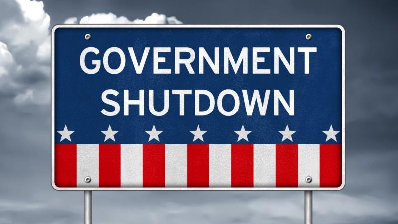 government shutdown sign real estate FHA USDA VA conventional home loans 2018