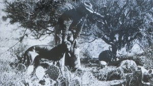 Lost Dutchman gold mine Adolph Ruth skull man dog Superstition Mountains photo