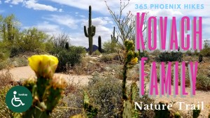 best hike scottsdale handlicap disabled kids elderly Kovach Family Trail Scottsdale