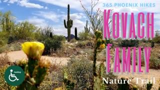 best hike scottsdale handlicap disabled kids elderly Kovach Family Trail Scottsdale