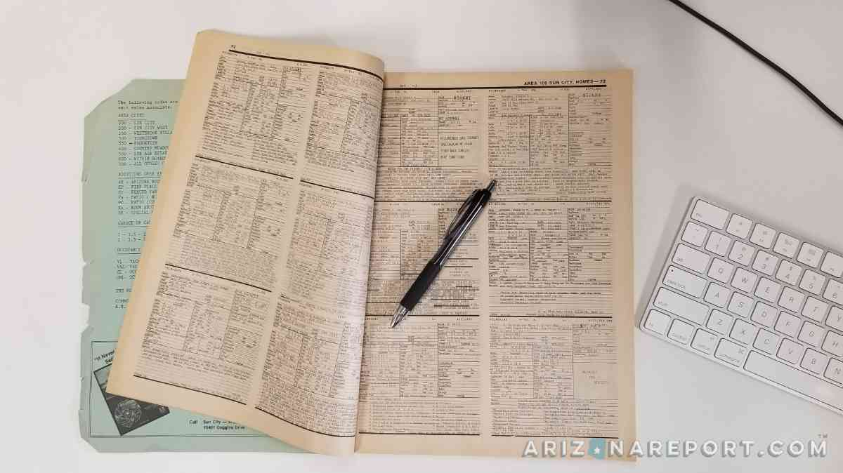 MLS books realtor agent listings property catalogs past