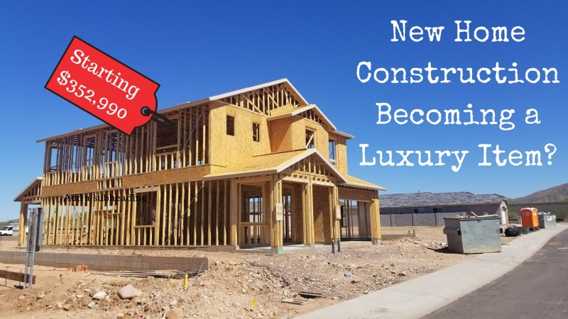 new home construction high price luxury