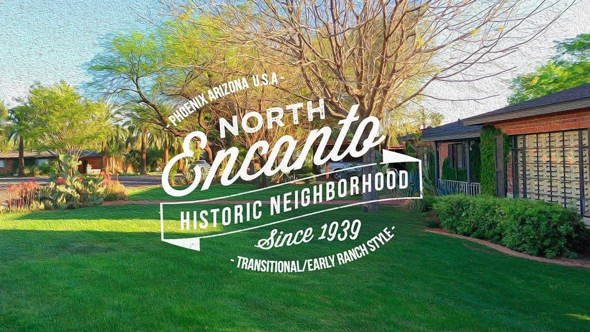 North Encanto historic district homes residential Phoenix Arizona