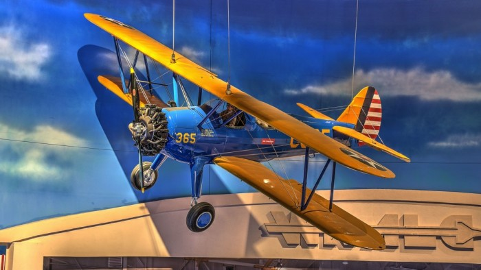 Stearman biplane Thunderbird 1 airfield Army Air Corps Phoenix Arizona history